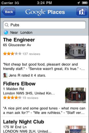 Google Places App2